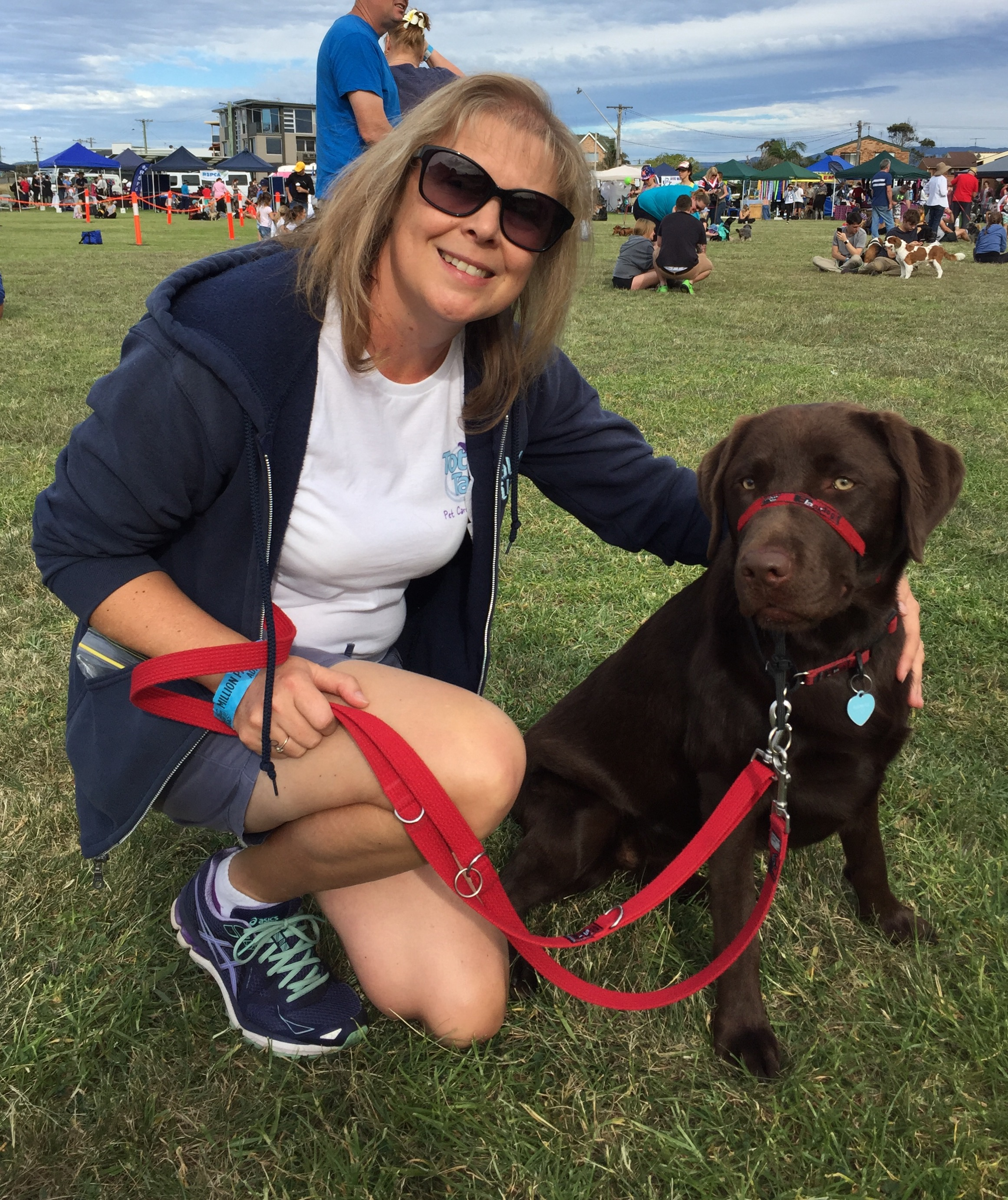 Lily & I at the RSPCA Million Paws Walk 2016